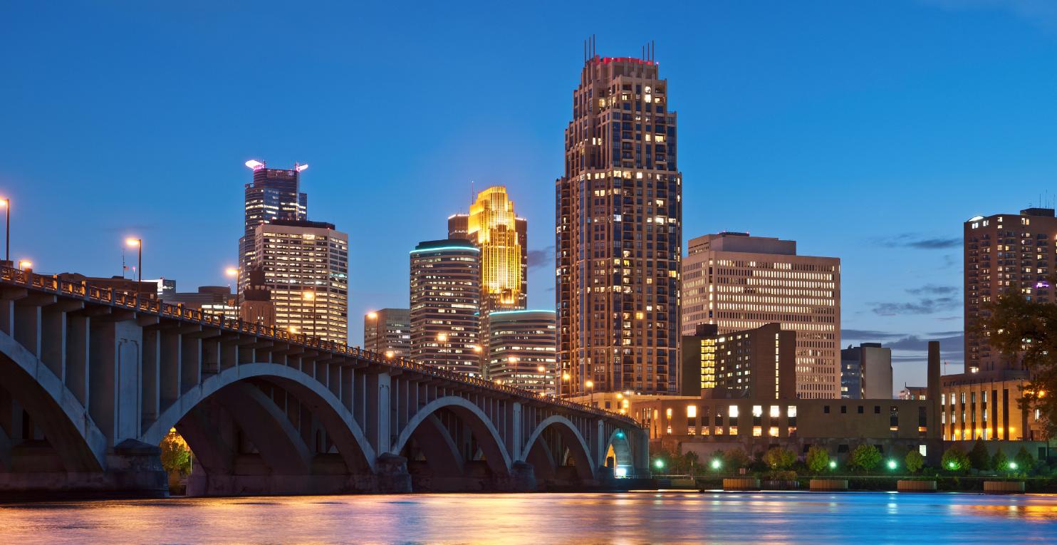 Our home: Minneapolis, Minnesota.