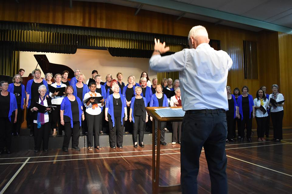 Copy of Combined choirs in Kerang, 2018