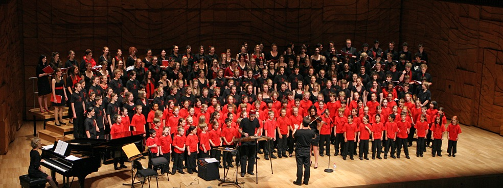young voices of melbourne  mark o'leary OAM, musical director