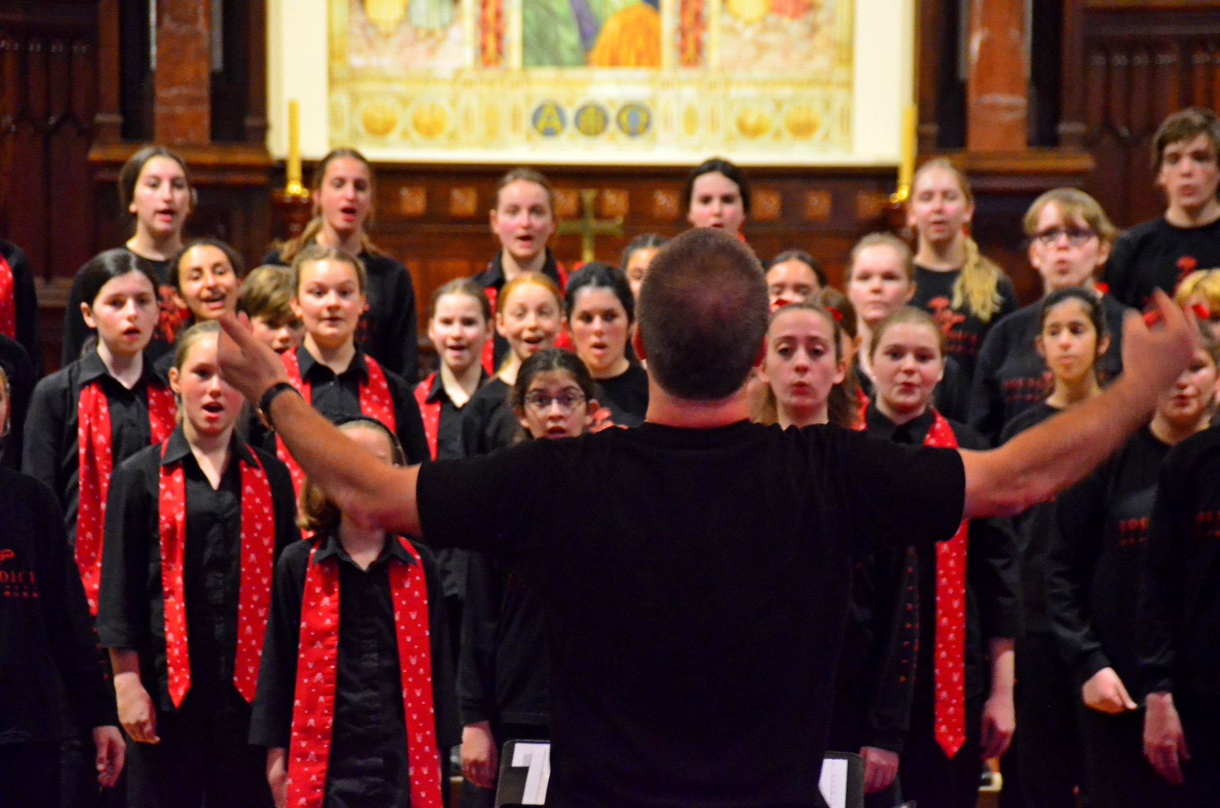 young voices of melbourne & bendigo youth choir