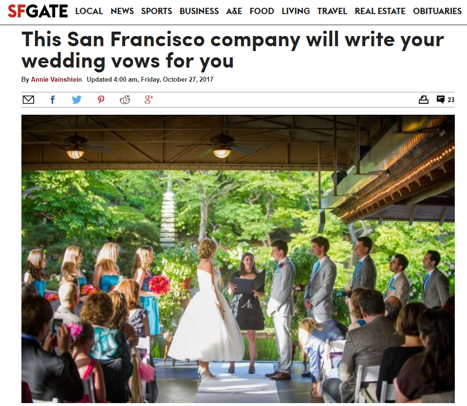 Article on SFGate , October 27, 2017. Featured photo by  Flutter Glass Photography