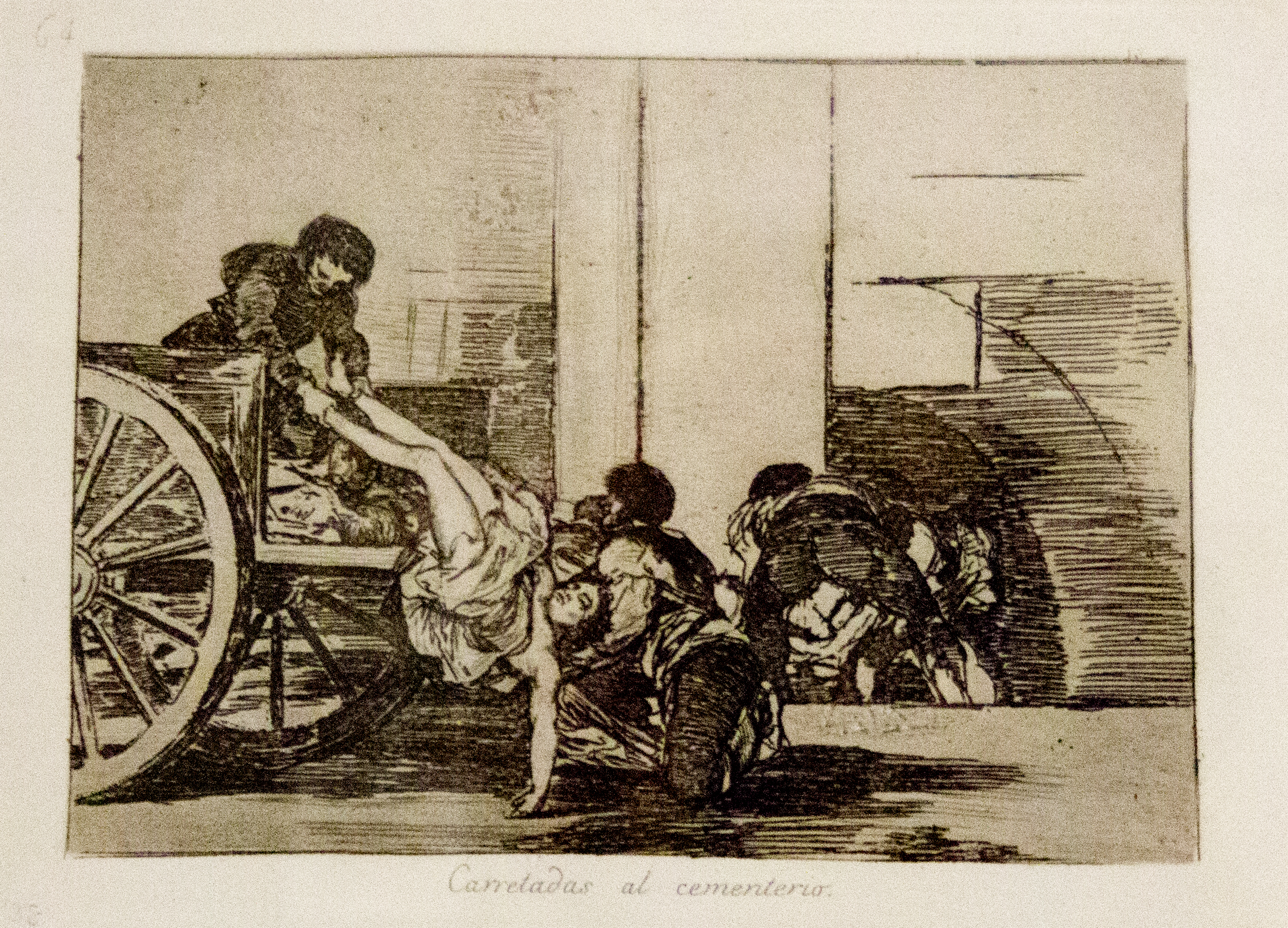 Muertos recogidos (Harvest of the Dead), ca. 1812
