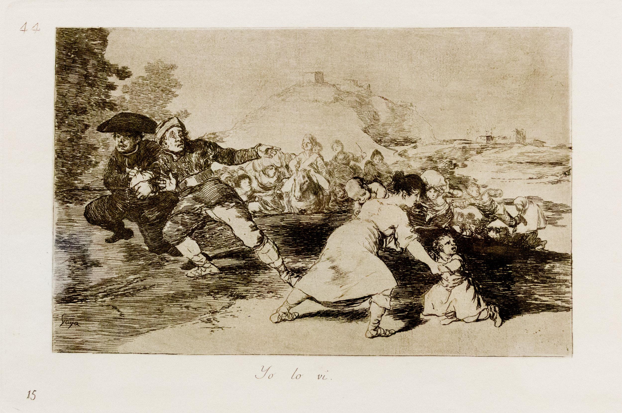 Yo Lo Vi (I Saw It) ca. 1810-11
