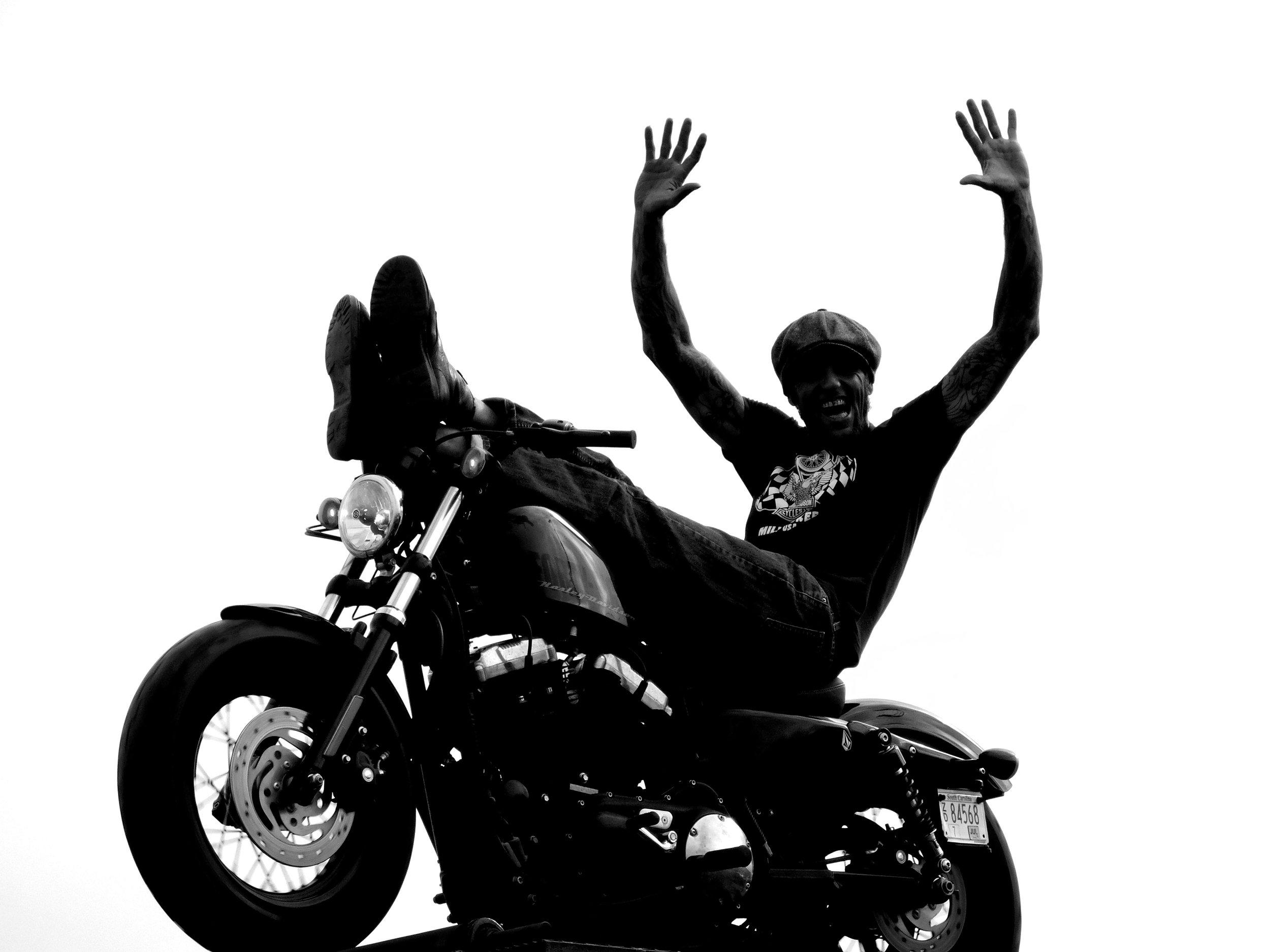 Rhett Rotten, Stuntman for The Wall of Death Riders