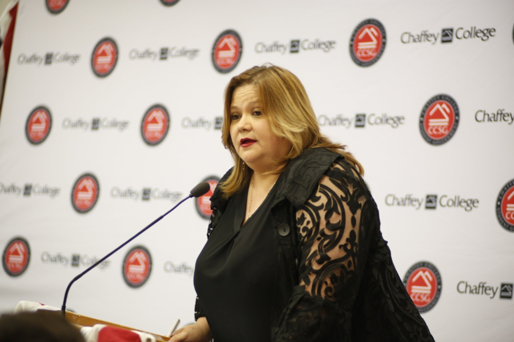 """Lorena Corona in response to the legalization of of marijuana, stating, """"I'm open to the conversation. We have to have the mentality to address the needs of our community.""""  Photo Courtesy: Sid Suarez Sr."""