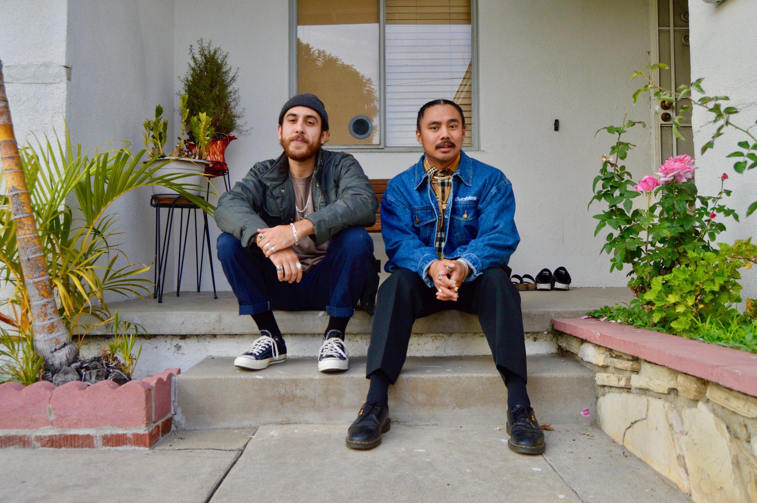 Abraham Recio and Ryan Santos. Photo by Alexis Nettles.