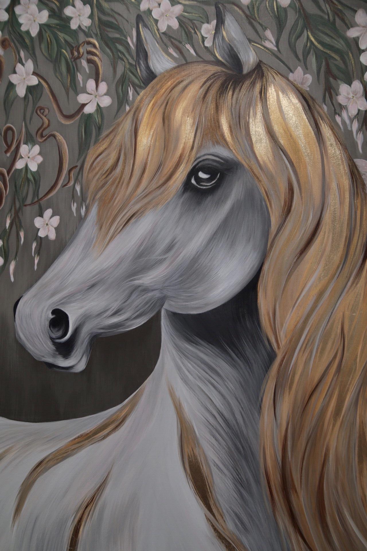 The Arabian Horse 1 by Sonia Breik.
