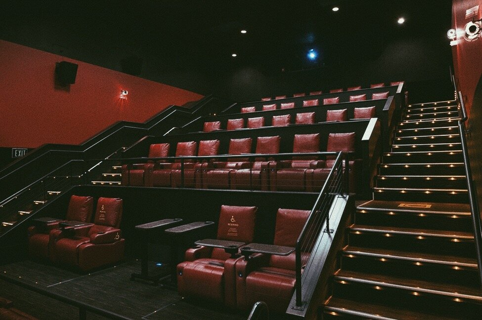 AMC Ontario Mills' signature reclined seating. Photo by Izel Chavez.