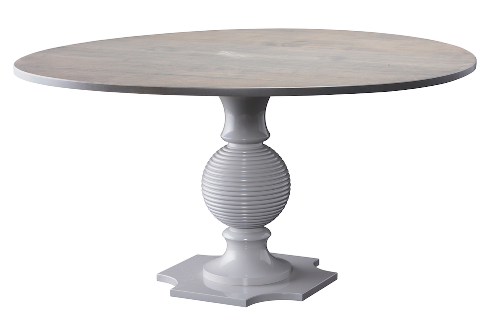 Capstan I - A Swedish Gray base complements the gray washed top.