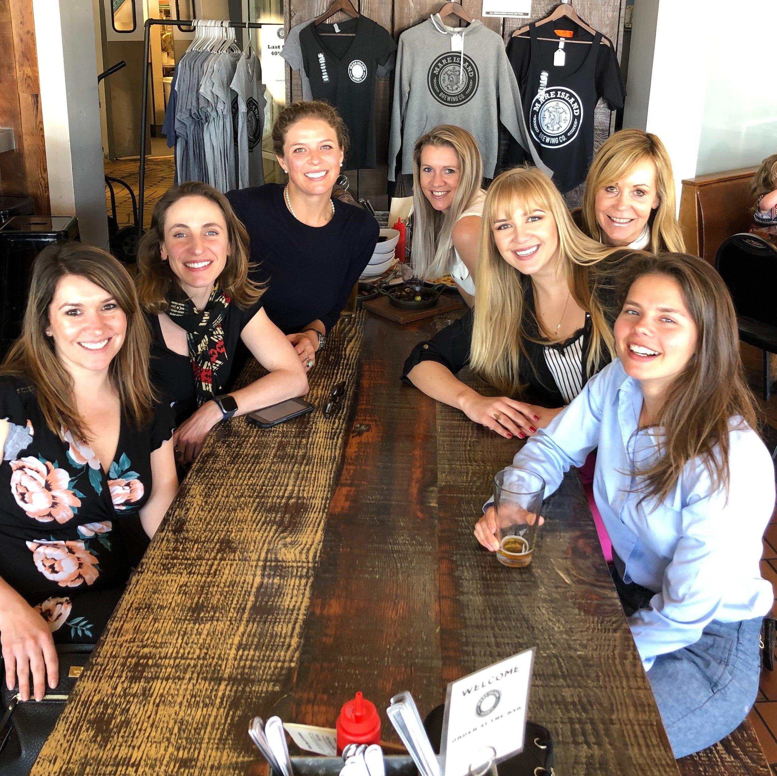 Sea Sisters at lunch.JPG