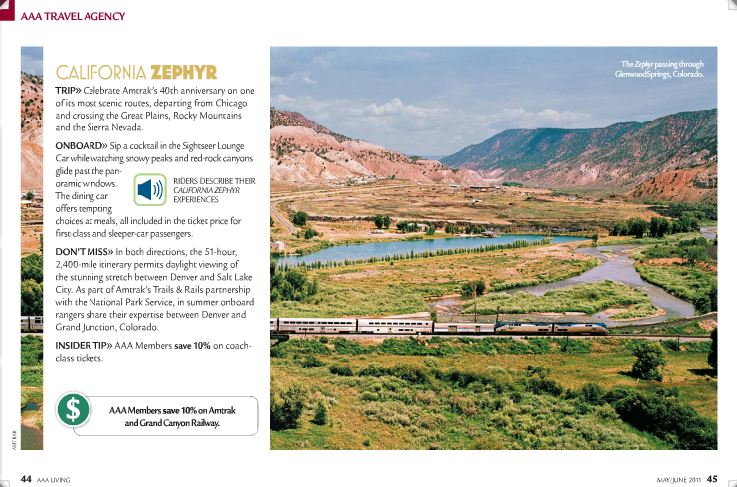 A multimedia piece about what life is like on the Amtrak California Zephyr and why people ride it.
