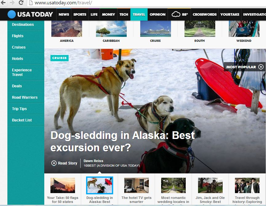What it's really like to go dog sledding.