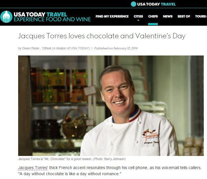 "How ""Mr. Chocolate"" handles Valentine's Day."