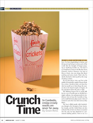 American Way Magazine Crunch Time