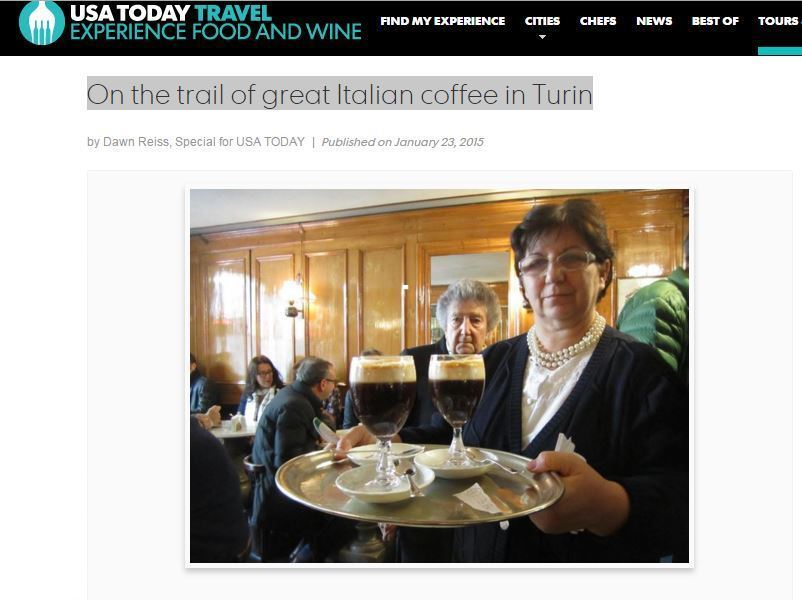 On the trail of great Italian coffee in Turin Dawn Reiss USA Today