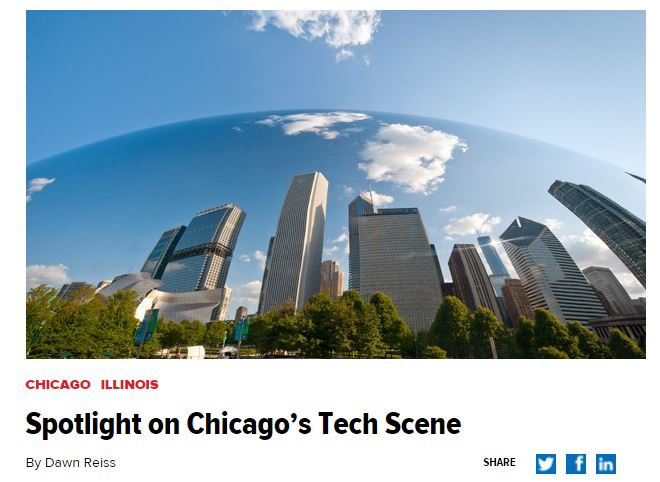Silicon Valley is known as the biggest technology haven in the U.S., but Chicago has rapidly grown in the past few years as a tech startup hot spot in the Midwest. Companies like Groupon, GrubHub and 37signals started in the Second City.