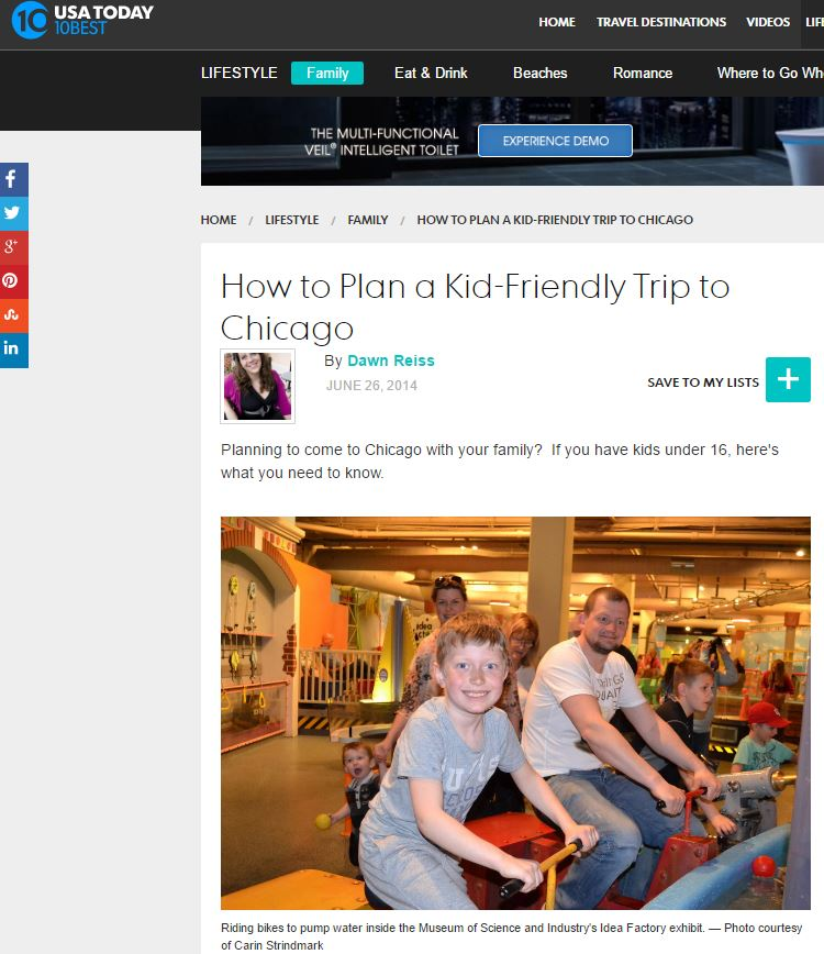 Planning to come to Chicago with your family? If you have kids under 16, here's what you need to know.