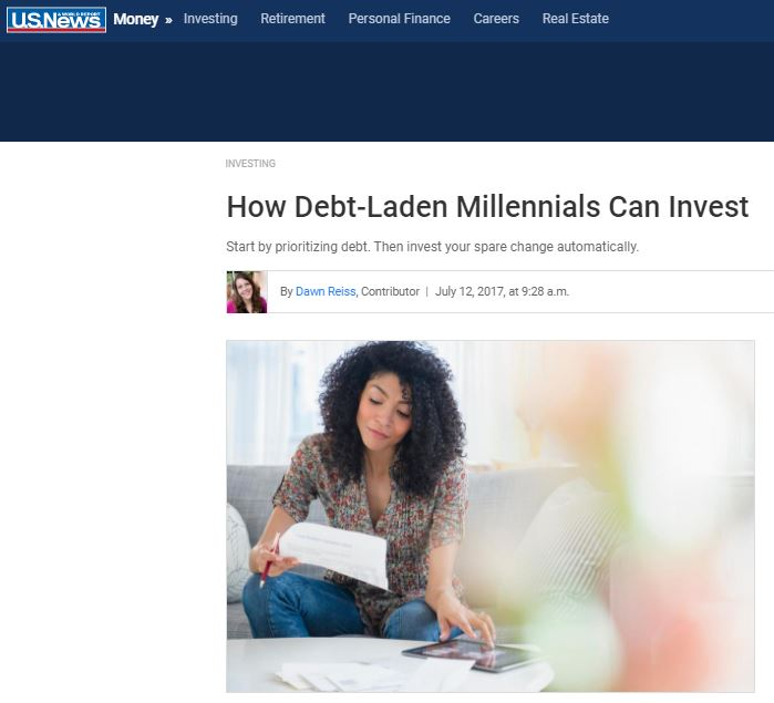 Time is an investor's most valuable asset, and that's one thing millennials have. By starting early, millennials can put their savings to work earning compounding interest.  Of course, that same principle of compounding interest works against you with debt, especially as interest rates climb and make revolving credit card balances, for example, even more costly.