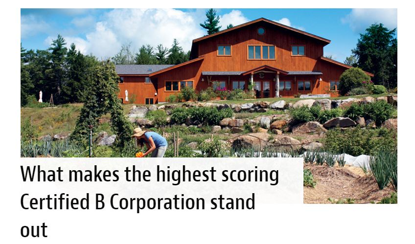 New Hope_Highest Scoring Certified B Corporations.JPG