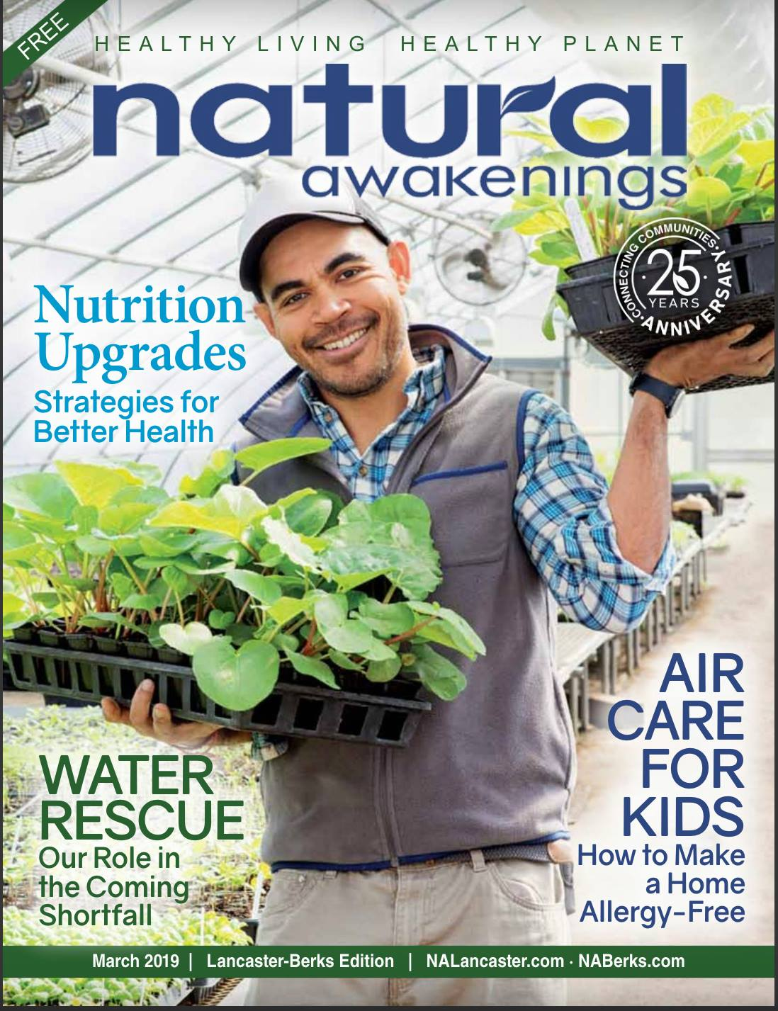 Jay Vilar was featured on the cover of Natural Awakenings magazine for his work helping clients health through nutritional therapy.