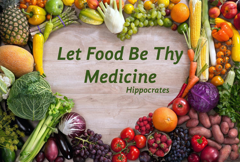 Image result for let food be thy medicine\