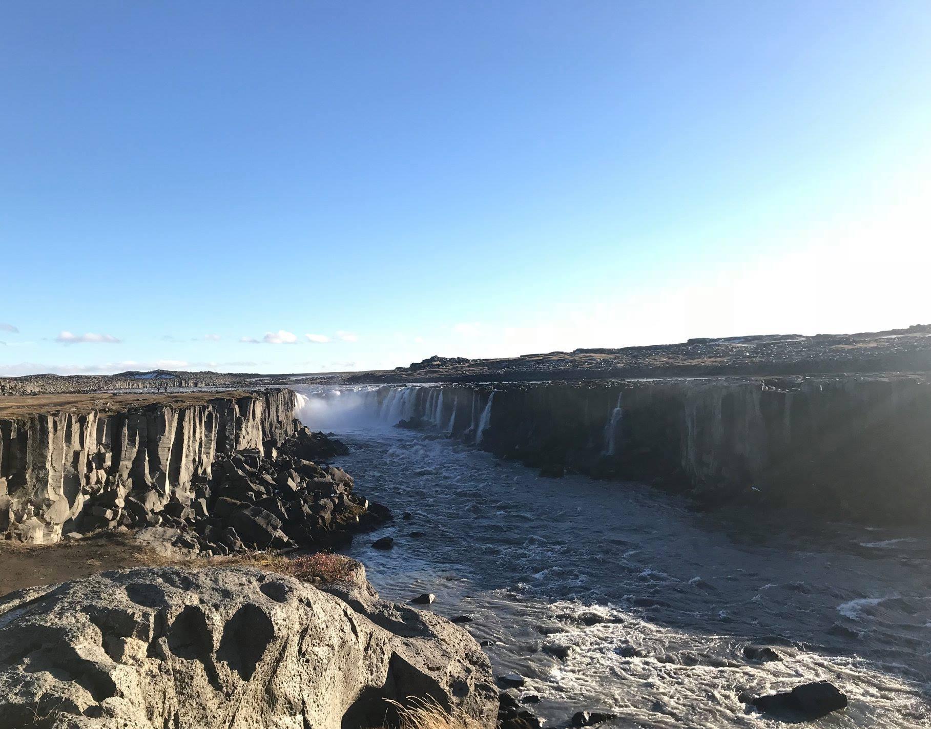 The view at Selfoss