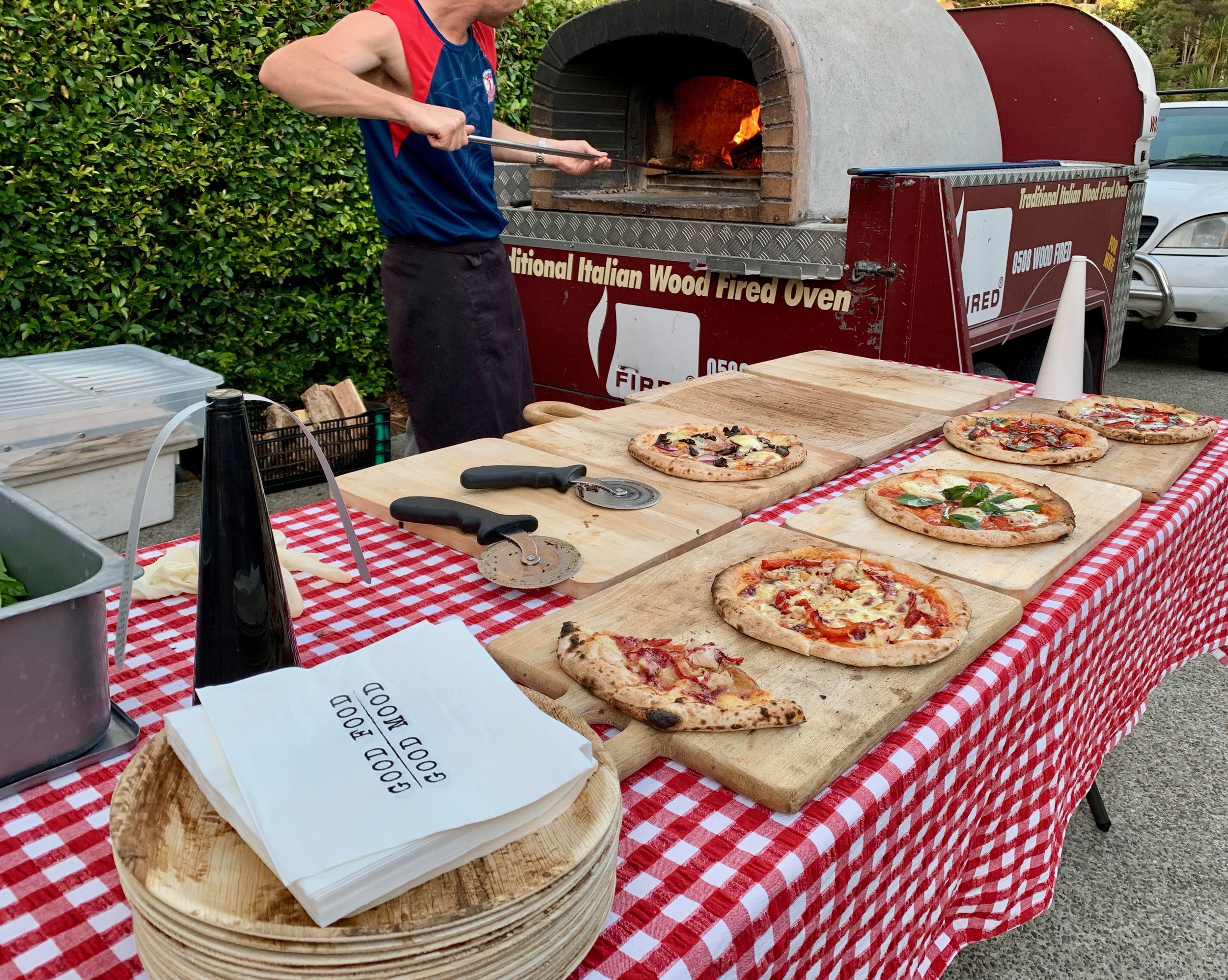 Fired Pizza Co at Wedding Feb 2019