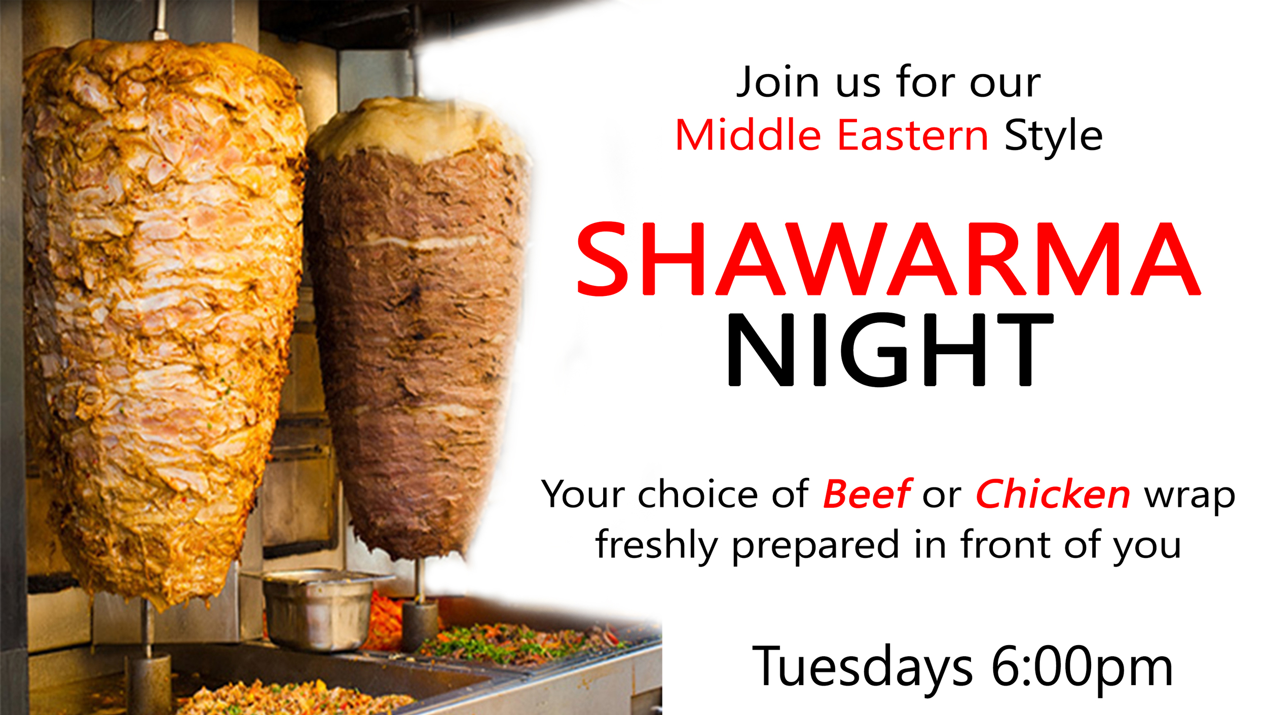 Shawarma Night