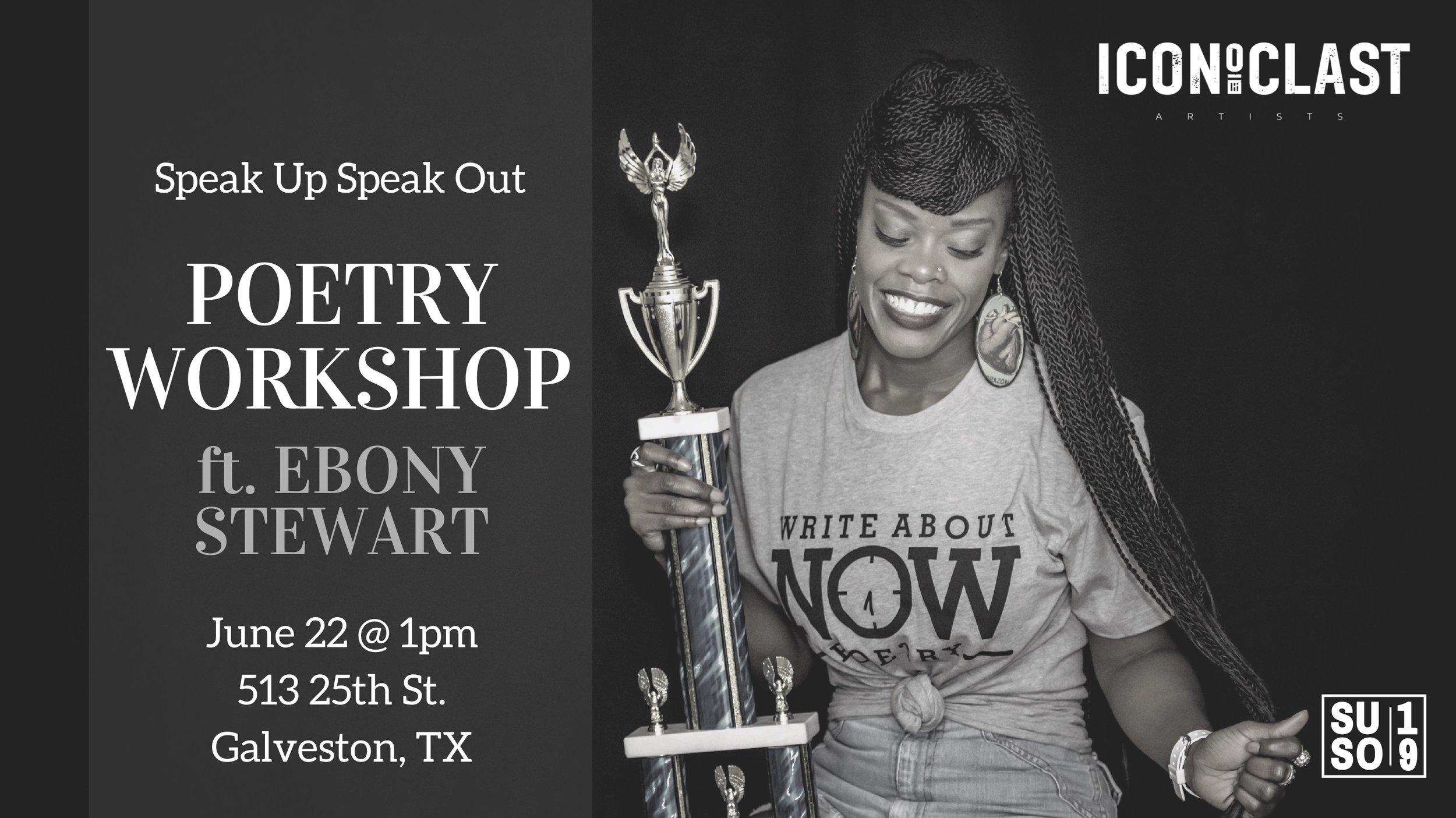 Register for Ebony's workshop HERE -