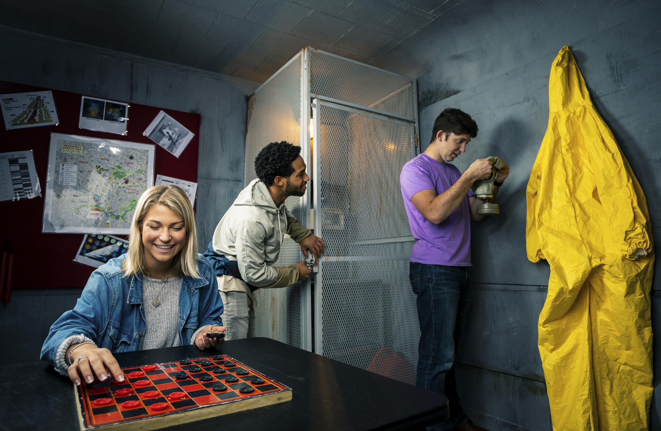The Fallout Escape Room, Escape Artist Greenville, SC