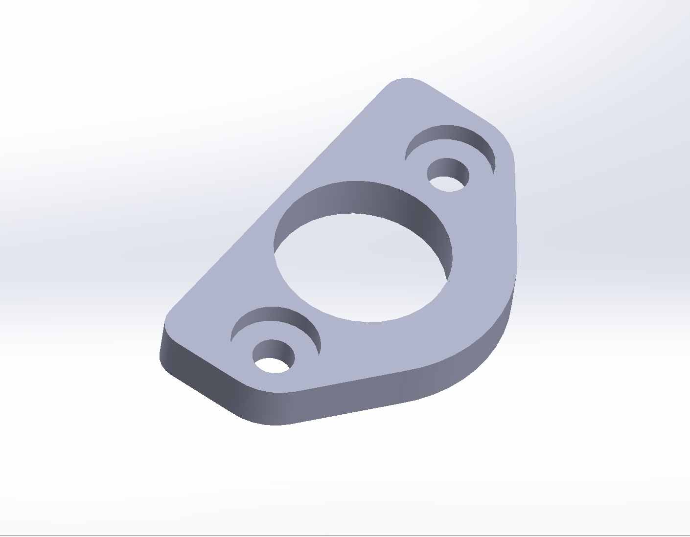 3D-printed spacer for Dzus fastener