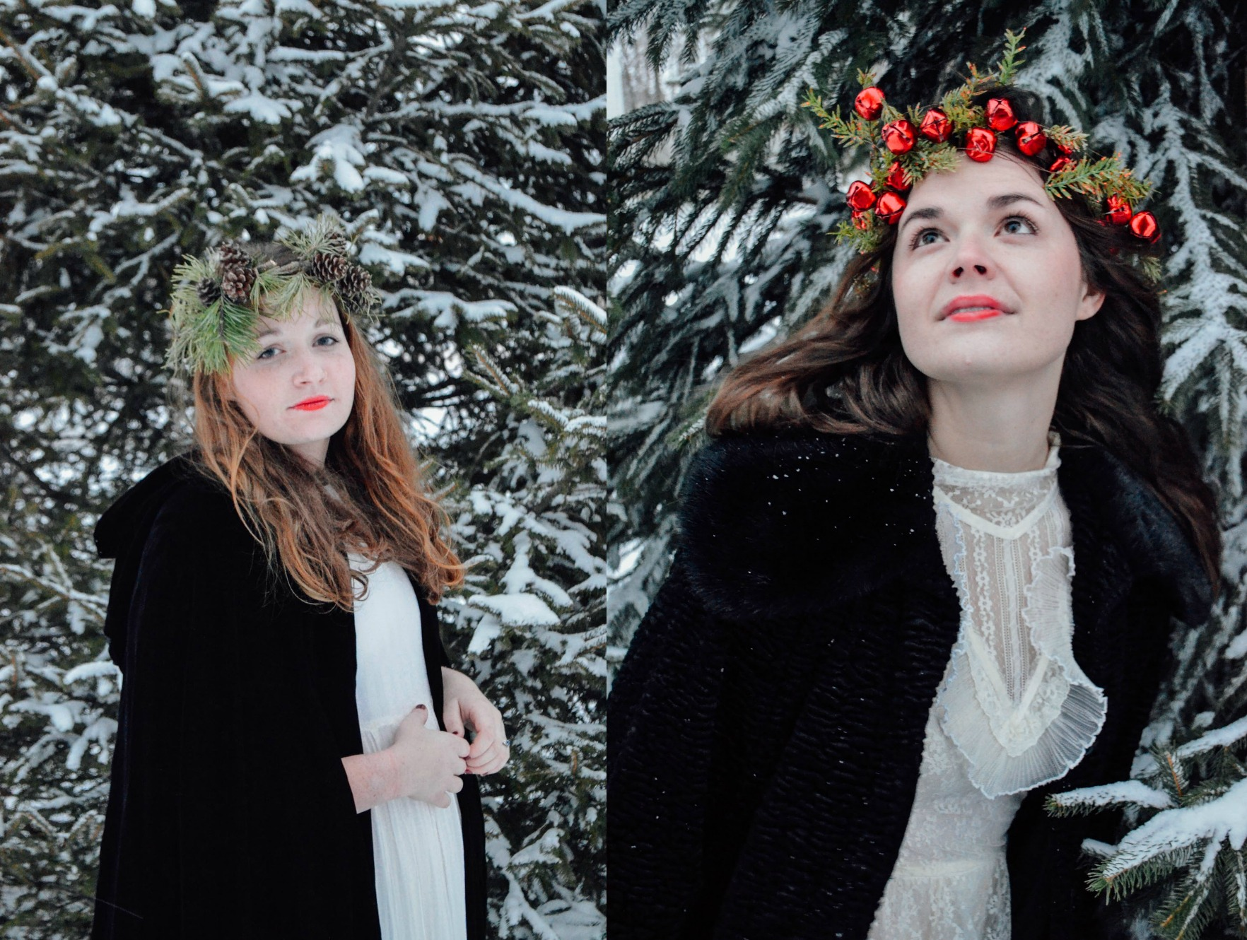 Susan and Lucy Pevensie...