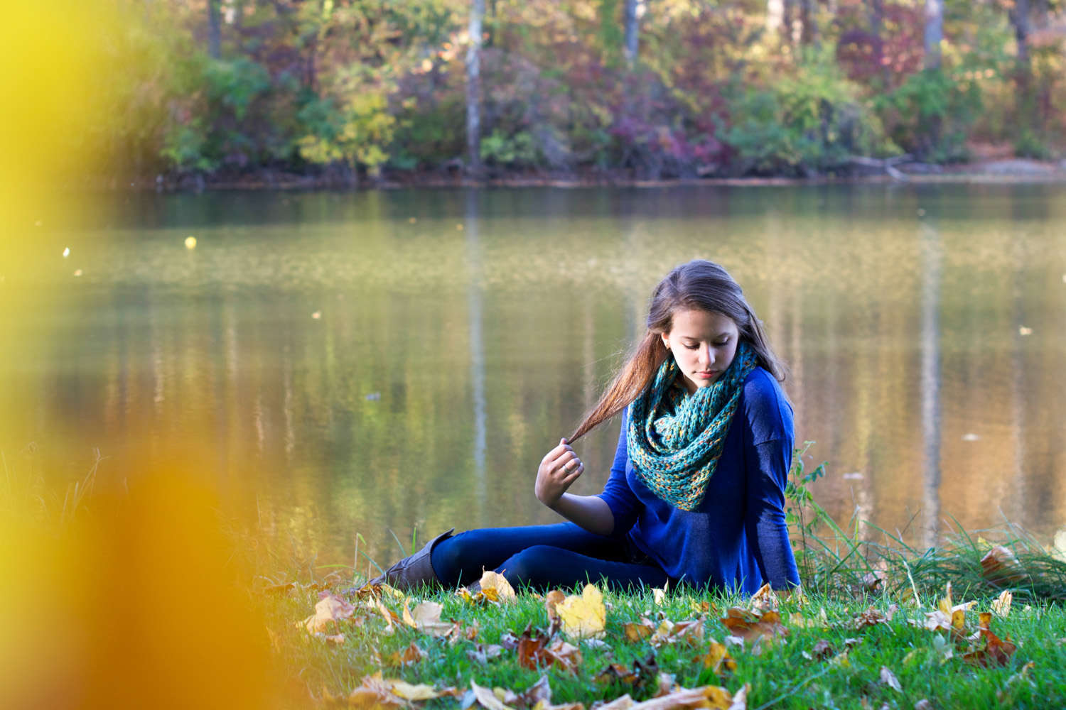 Again We Say Rejoice Photography - Autumn Leaves Senior Girl Portraits (2 of 21).jpg