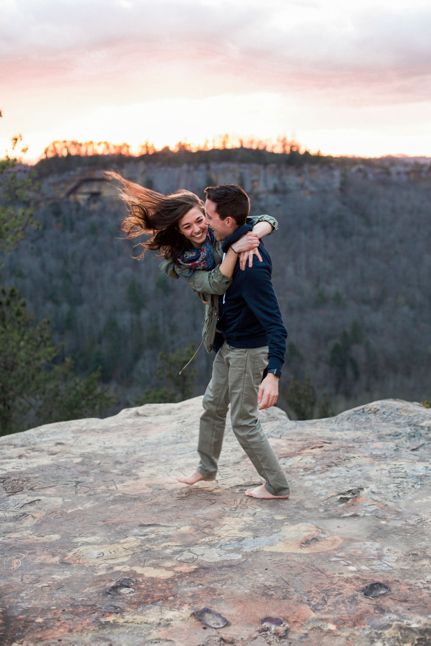 Dustin + Gabi Engagement Photo Shoot - Red River Gorge KY Engagement Photo Shoot (13 of 20).jpg