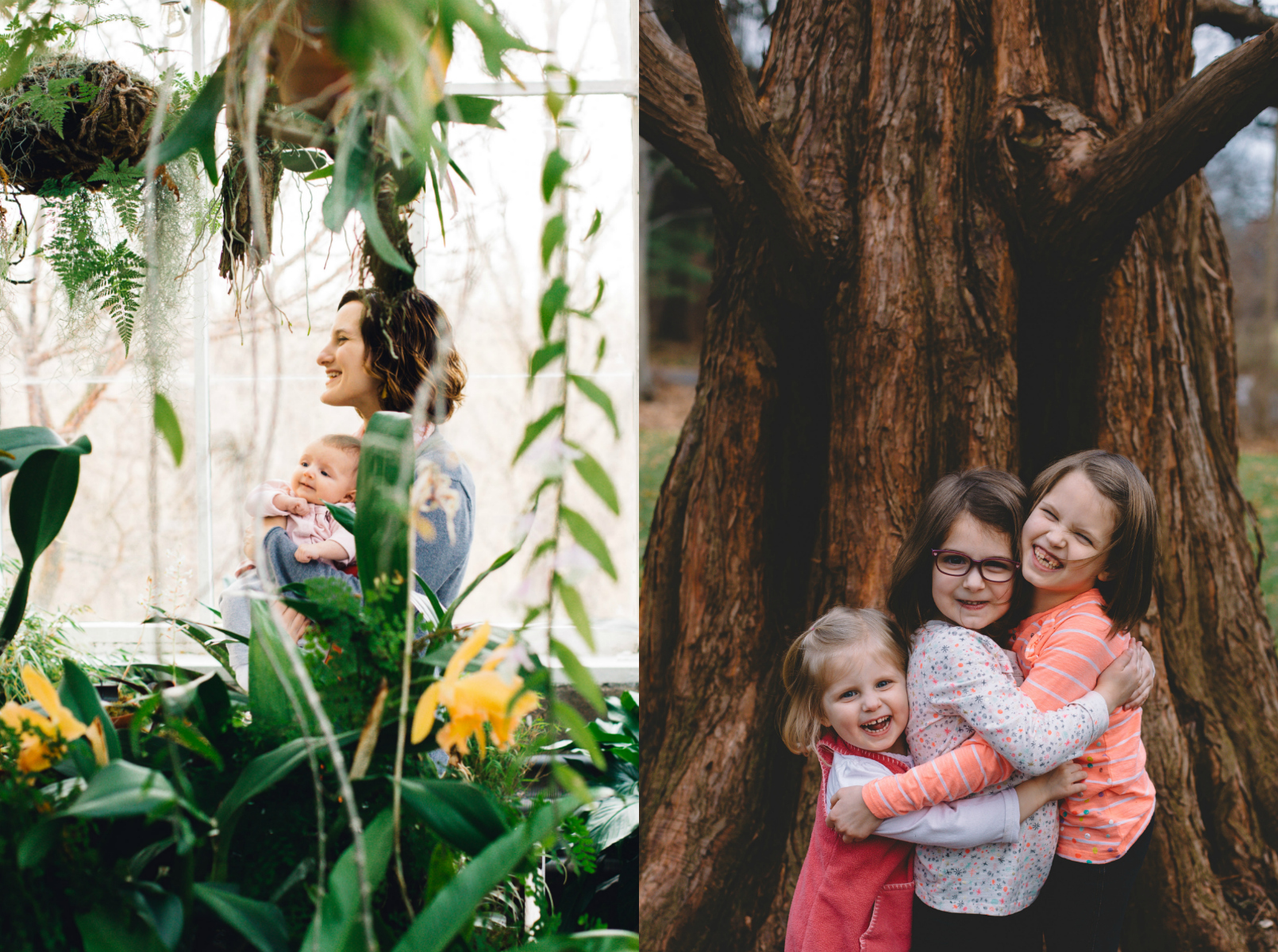 Reed Family Photo Session at the IMA Greenhouse {Indianapolis, IN}