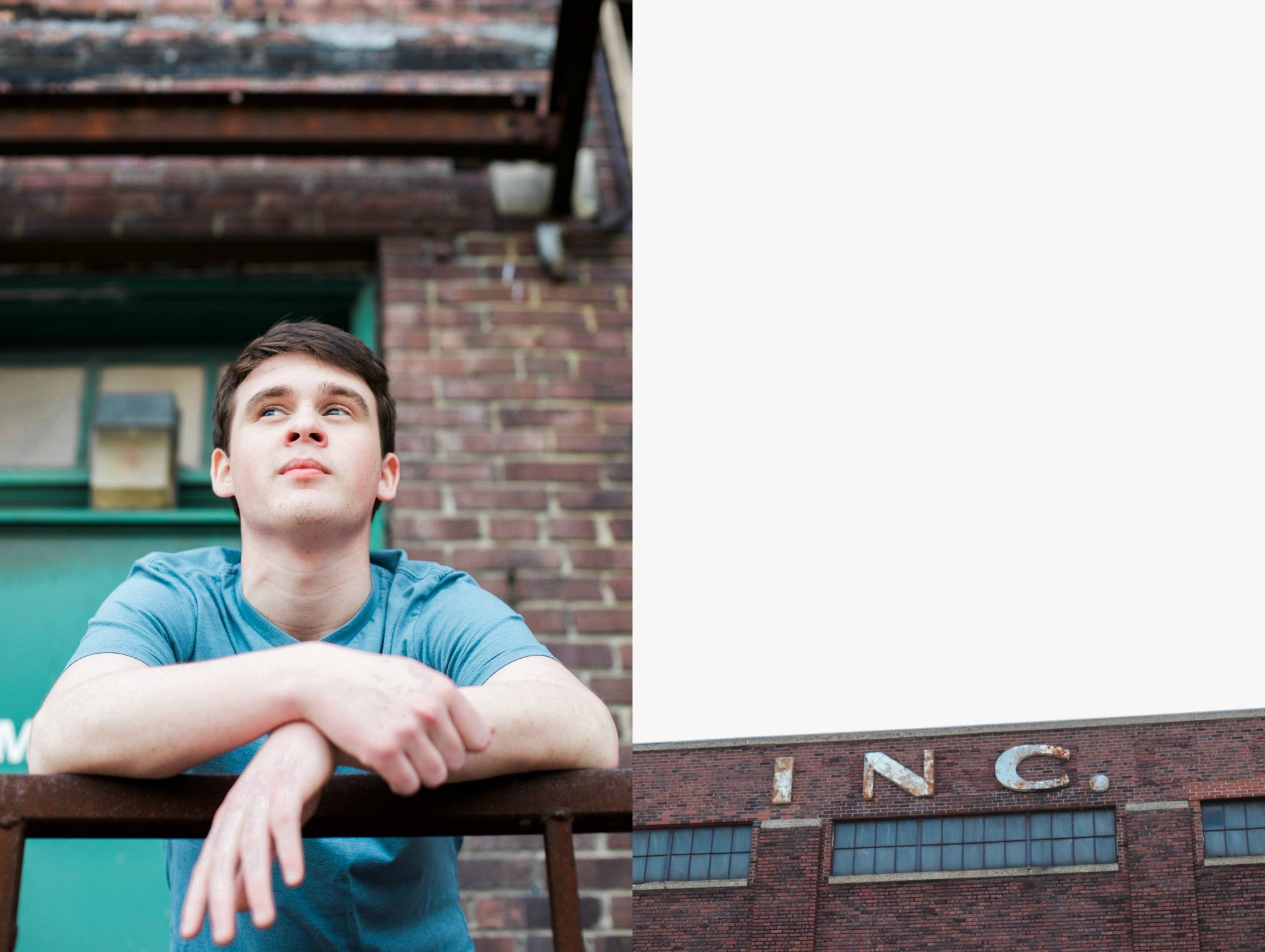 Andrew's Urban Senior Session {Indianapolis, IN}
