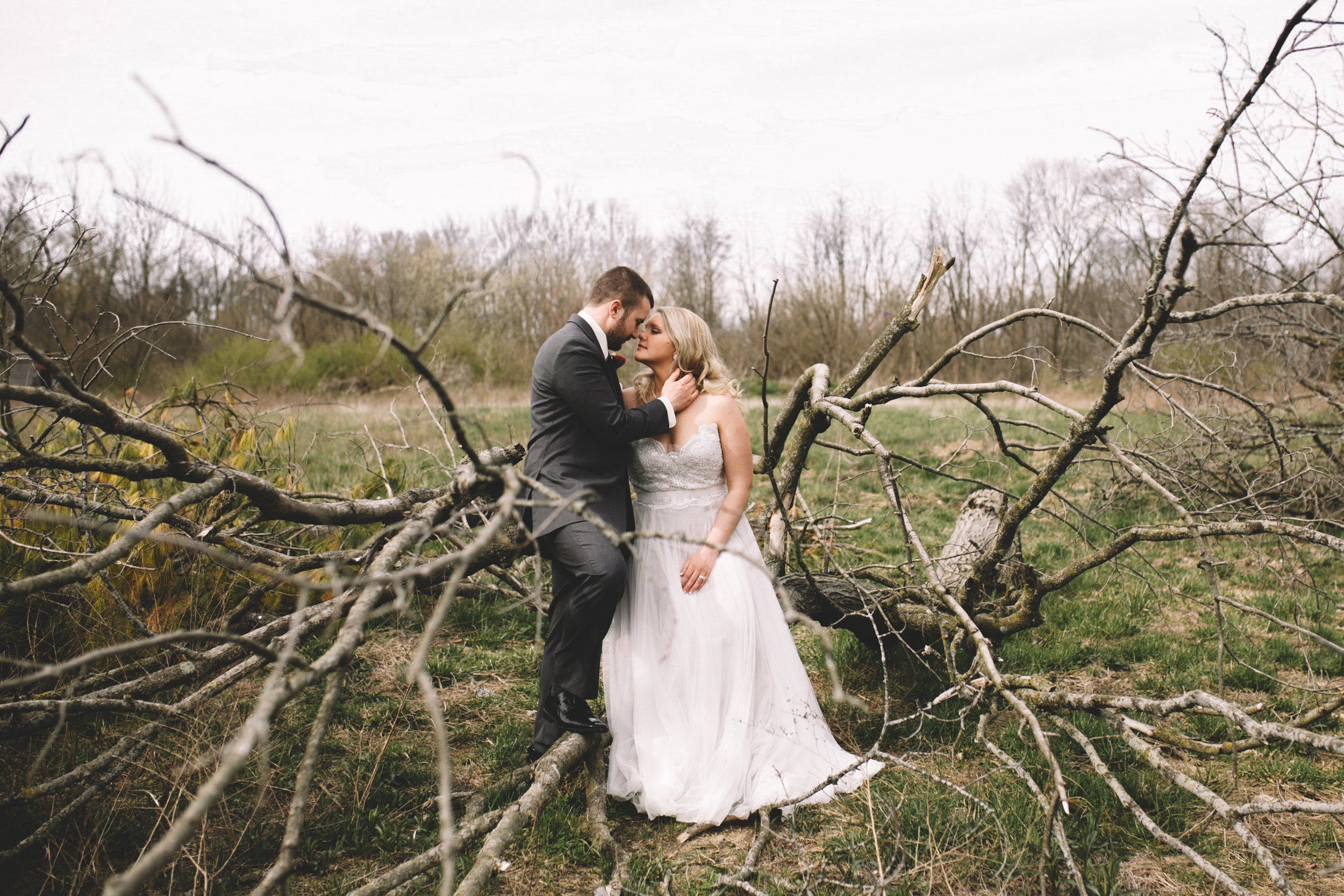 Kimi + Austen's Freedom Barn Wedding {Indianapolis, IN}