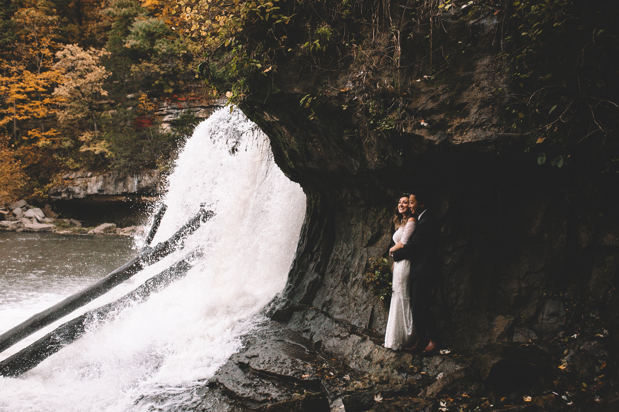Cataract Falls Couple Photo Shoot Again We Say Rejoice Photography  (14 of 2).jpg