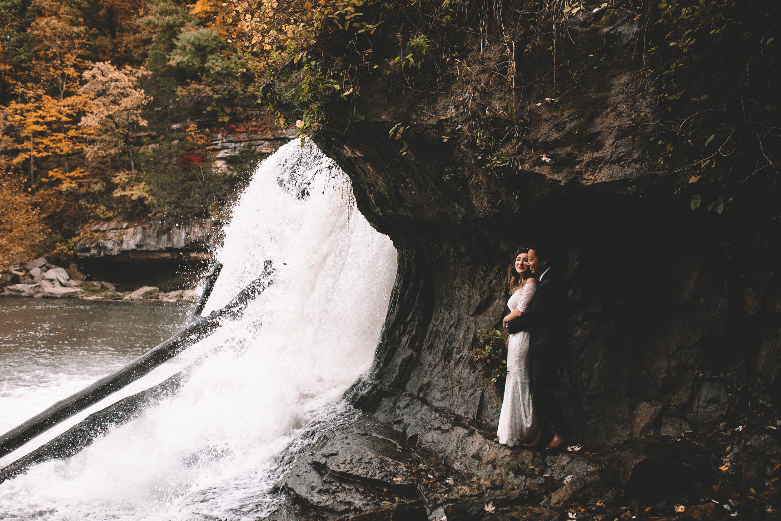 Cataract Falls Couple Photo Shoot Again We Say Rejoice Photography  (15 of 2).jpg