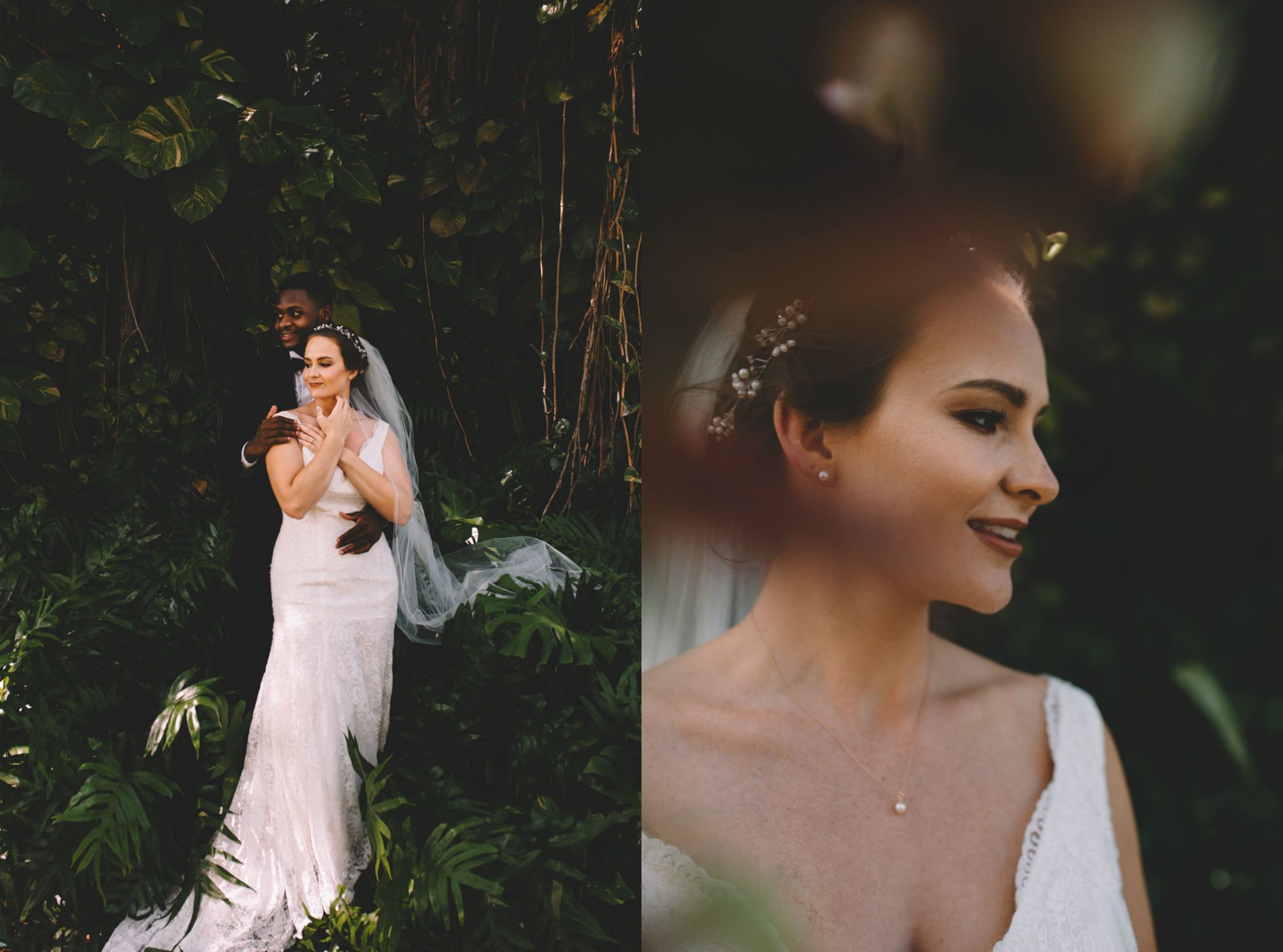 Chris + Hope's Sun Drenched Tropical Wedding {Miami, FL}
