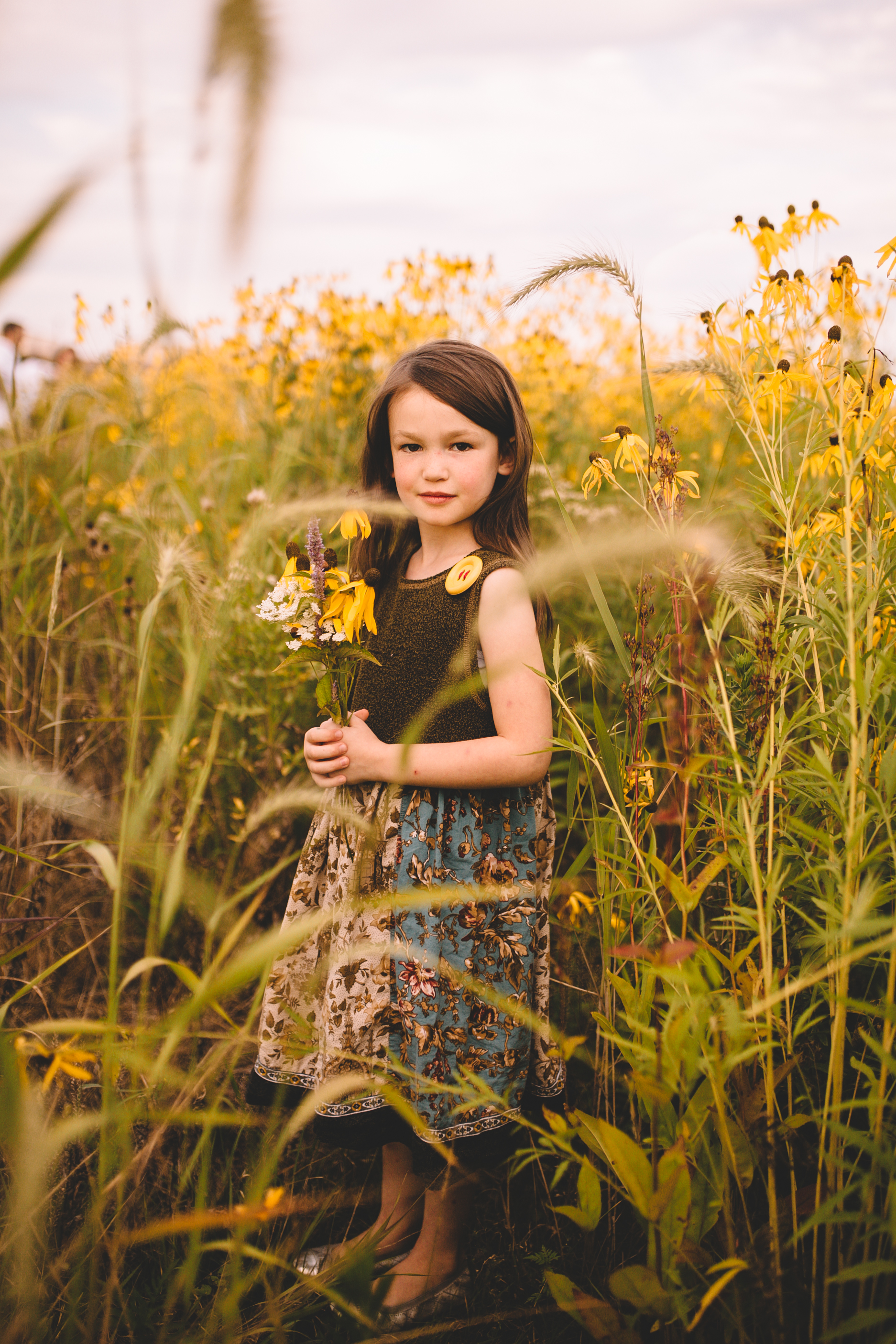 Golden Flower Field Mini Session Indianapolis IN (28 of 58).jpg