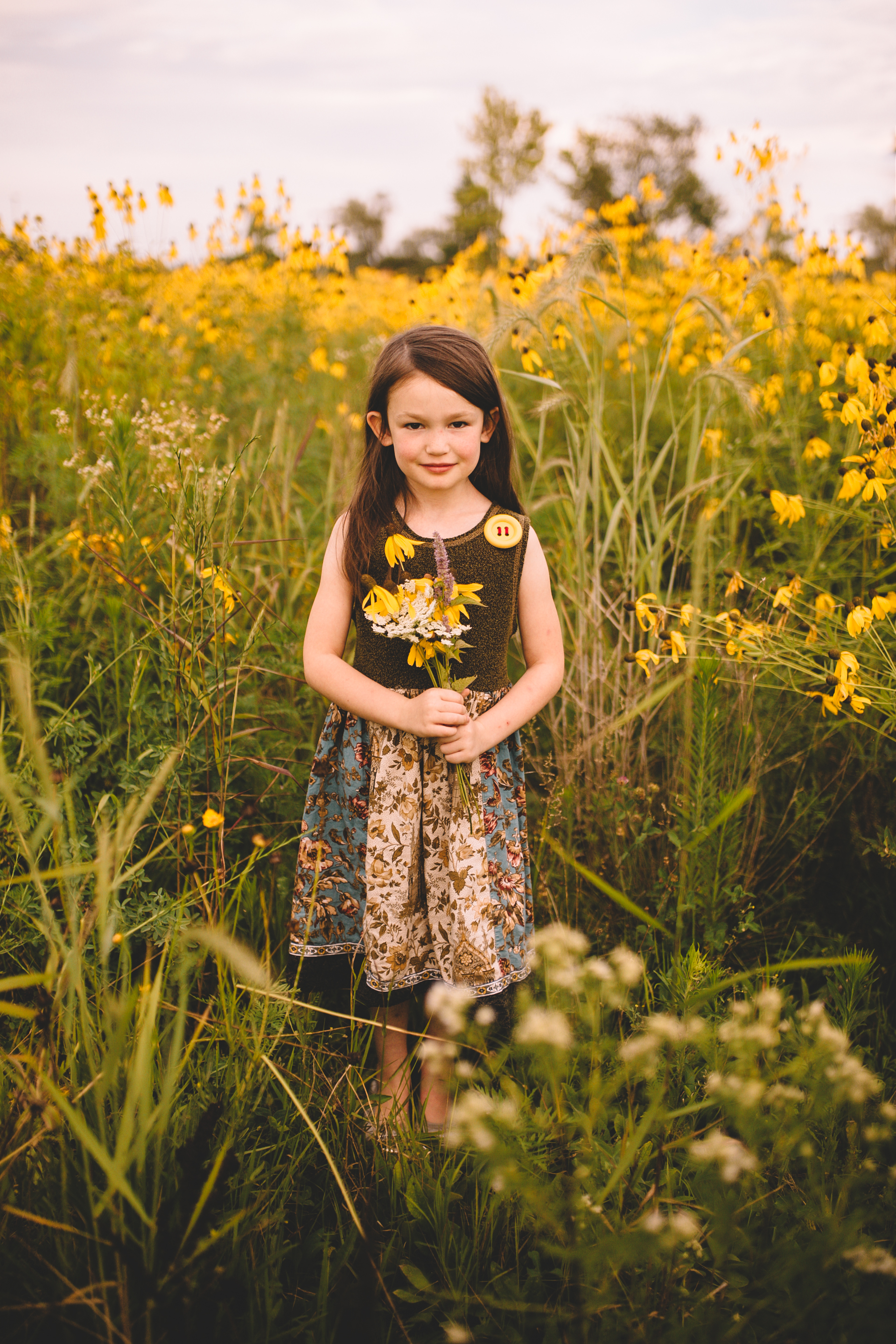 Golden Flower Field Mini Session Indianapolis IN (27 of 58).jpg