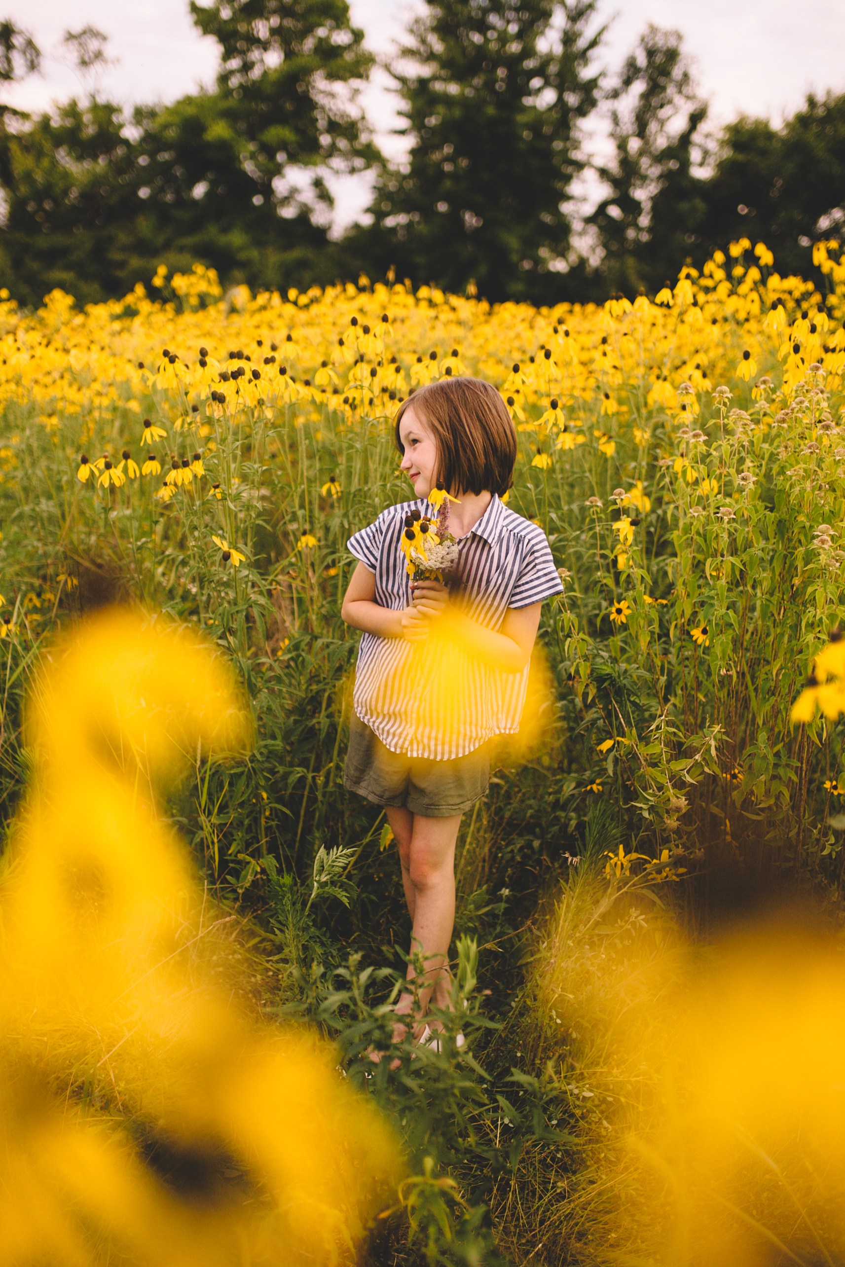 Golden Flower Field Mini Session Indianapolis IN (25 of 58).jpg