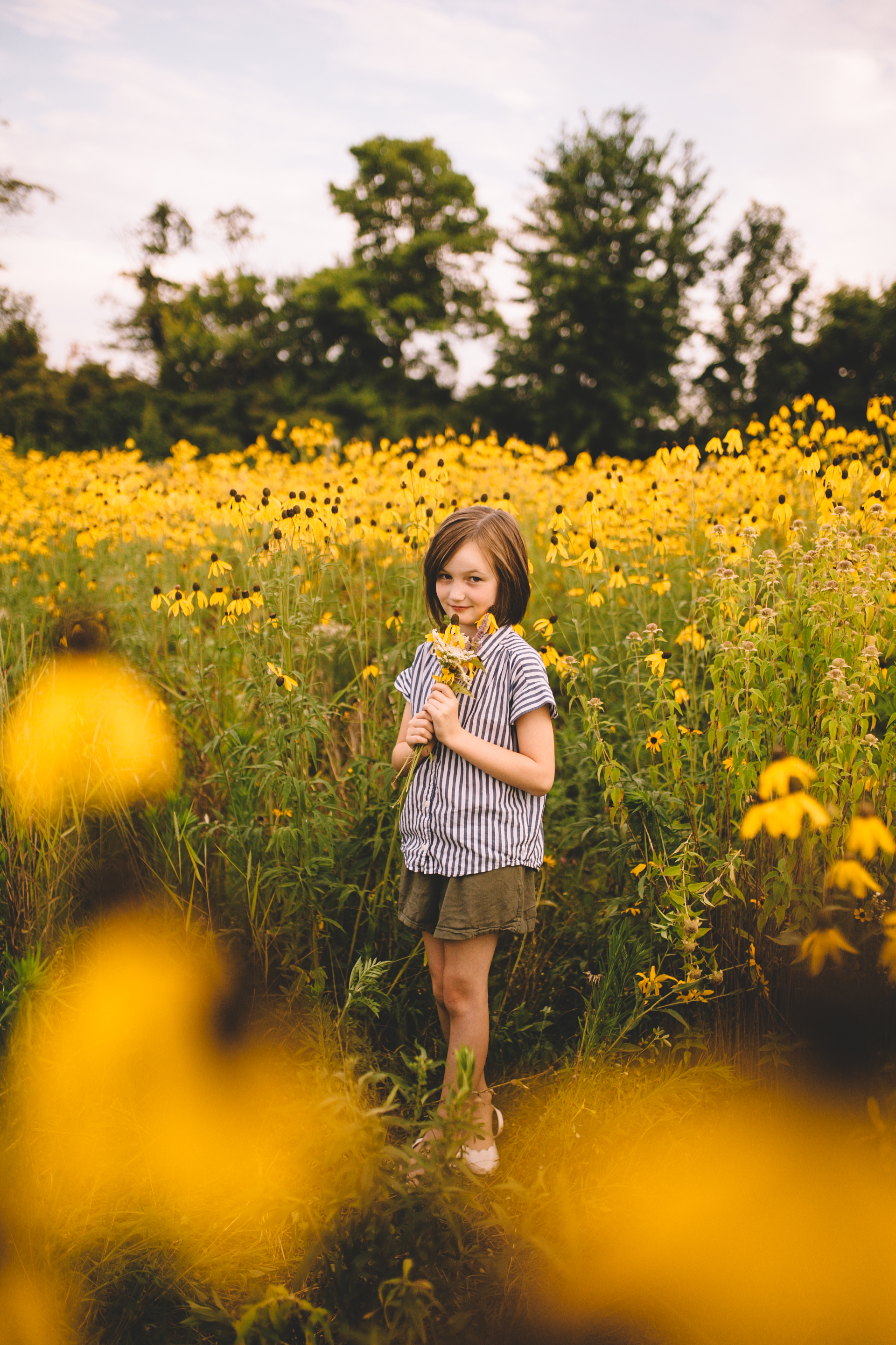 Golden Flower Field Mini Session Indianapolis IN (24 of 58).jpg