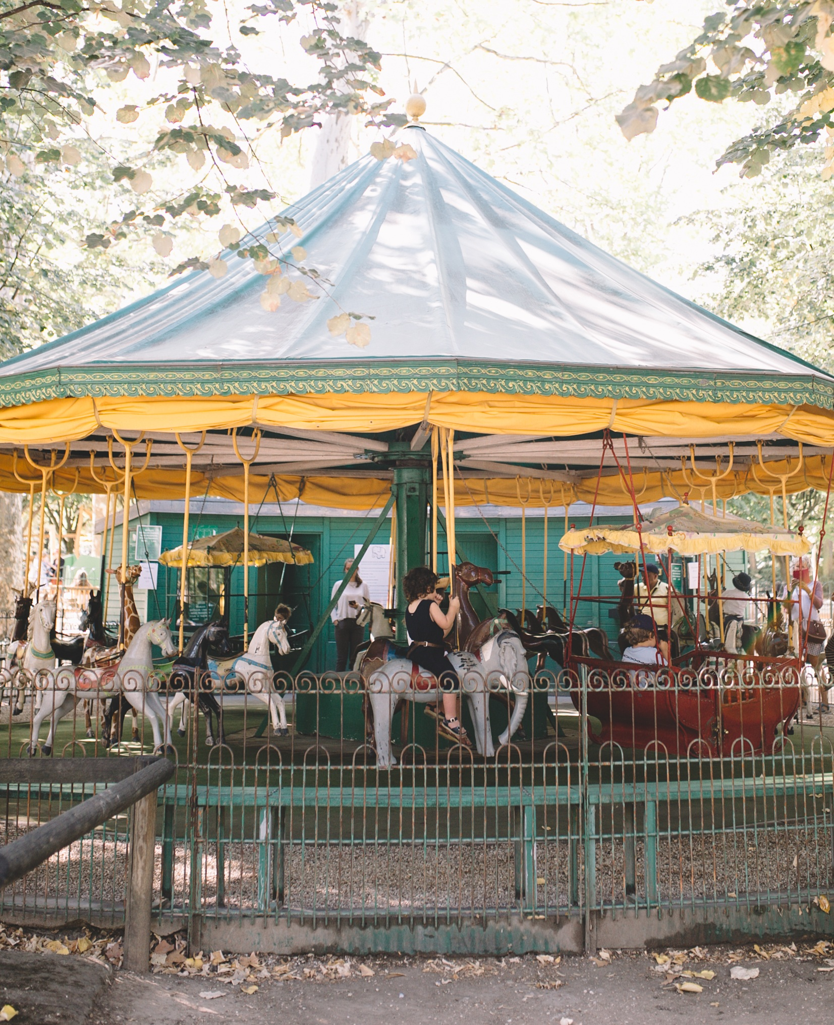 Jardin Du Luxenbourg Sailboats, Carousel, and Lawn (23 of 76).jpg