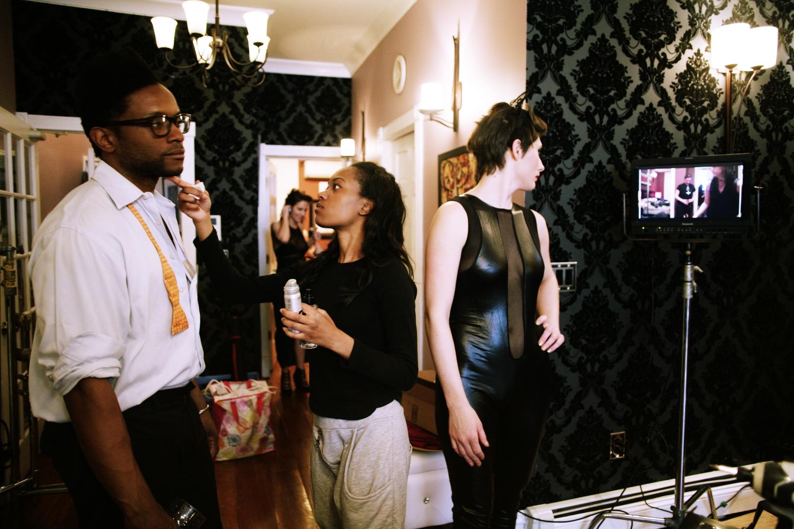 Shanah does Luke Crystal monitor.JPG