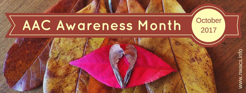 AAC Awareness Month, October 2017