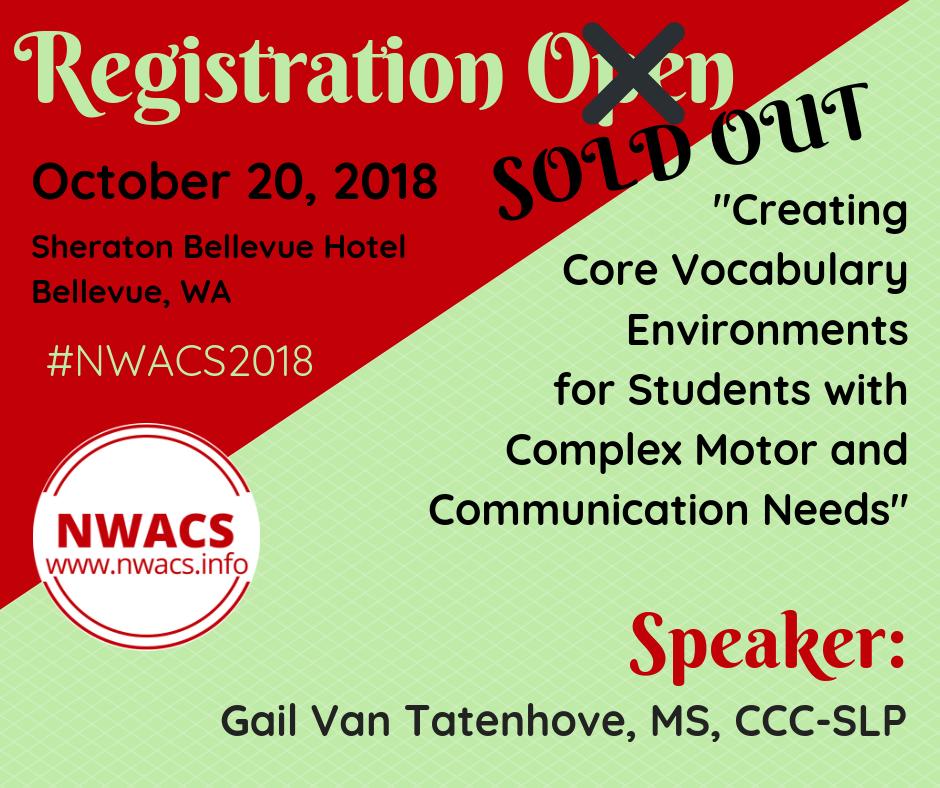 NWACS 2018 Registration Open
