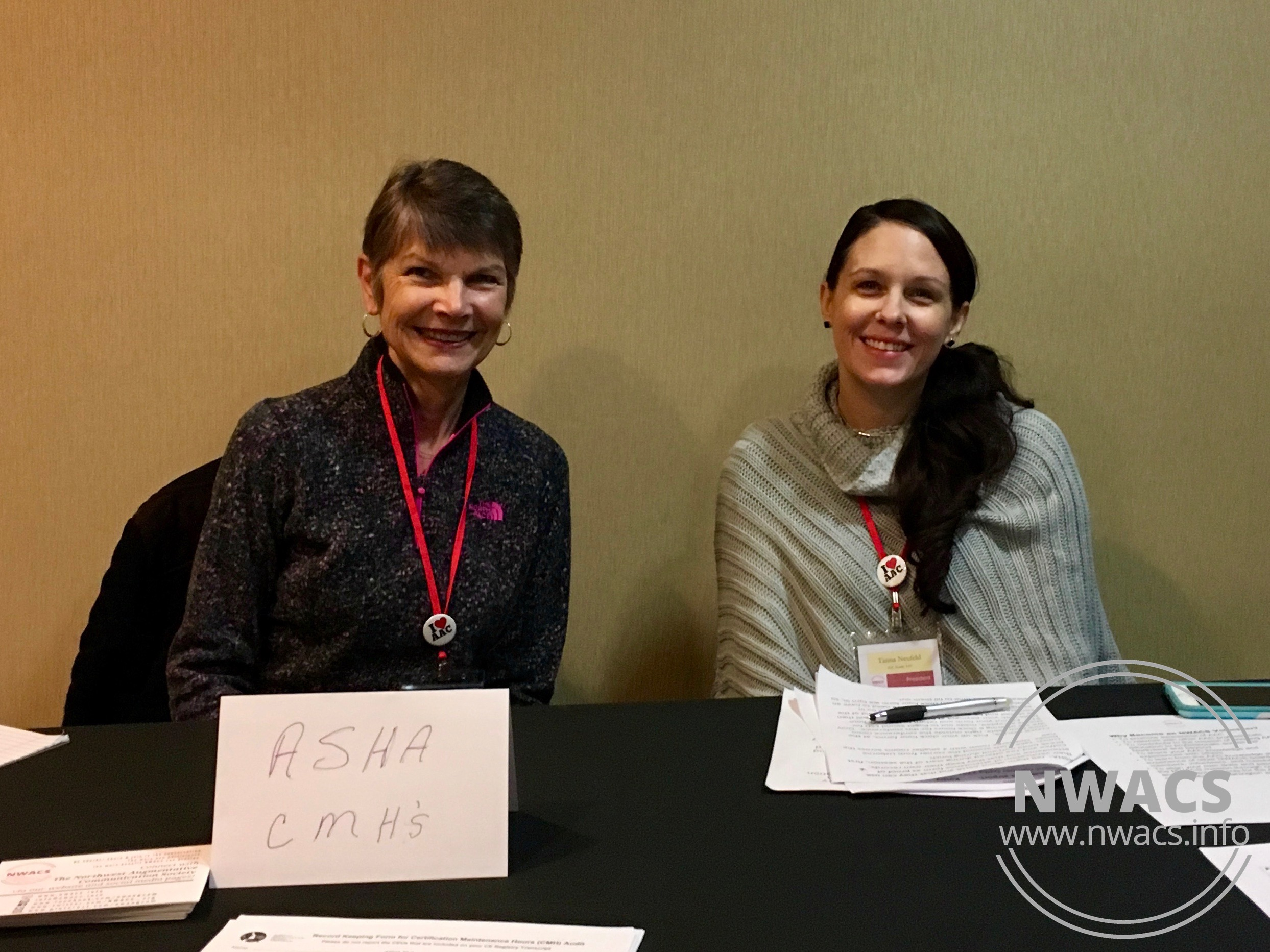 NWACS Board members Kathy & Tanna