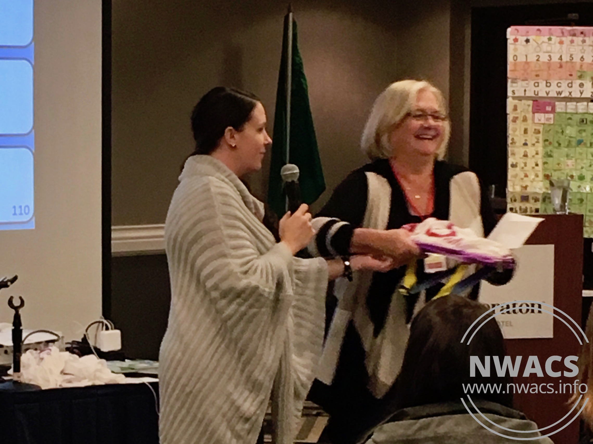 Thanks to our generous sponsors, we had several great door prizes again this year!